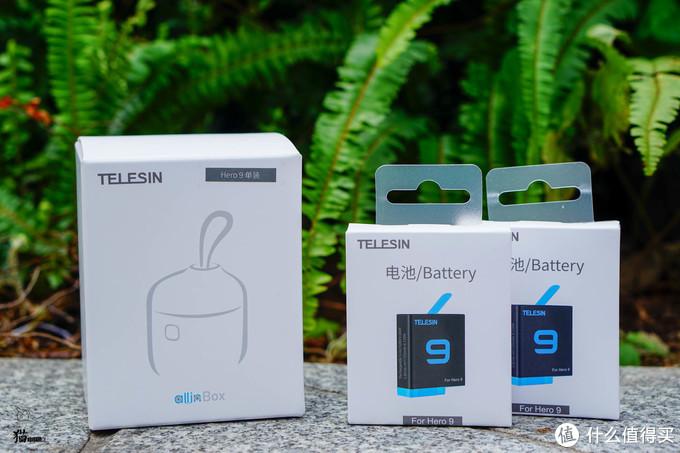 Telesin GoPro9 AllinBox 防水防尘+双卡收纳+三电充电+USB3.0读卡器