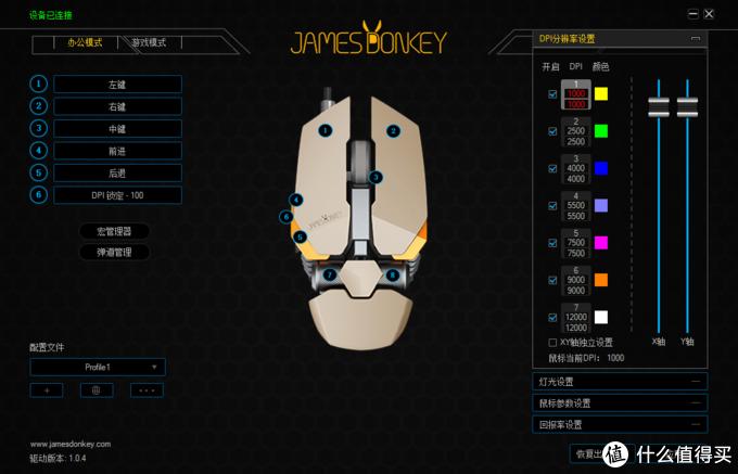 握在手里的赛博科技风:James Donkey贱驴机械风格外设套装