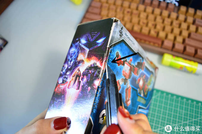 解决收纳难题:小姐姐手把手教你改造变形金刚包装盒(内含分享视频)