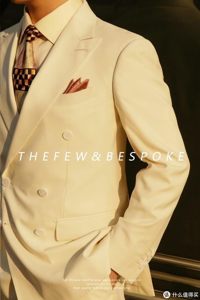 成都定制西服推荐 ll 春季值得入手的白色西服!