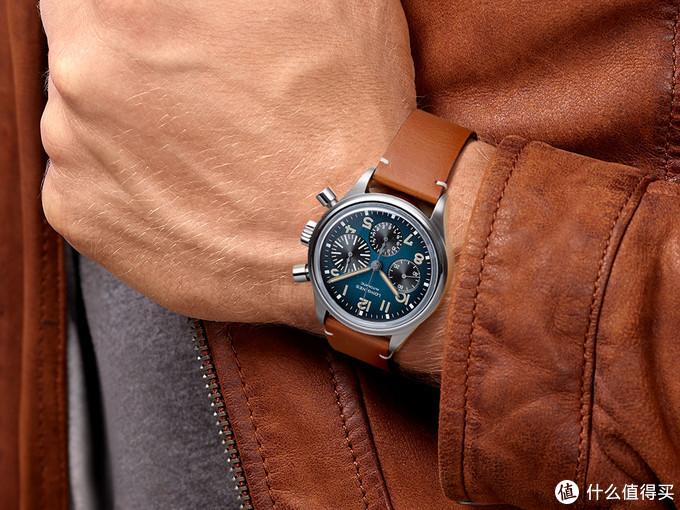 浪琴的浓眉大眼(BIG EYE)计时手表