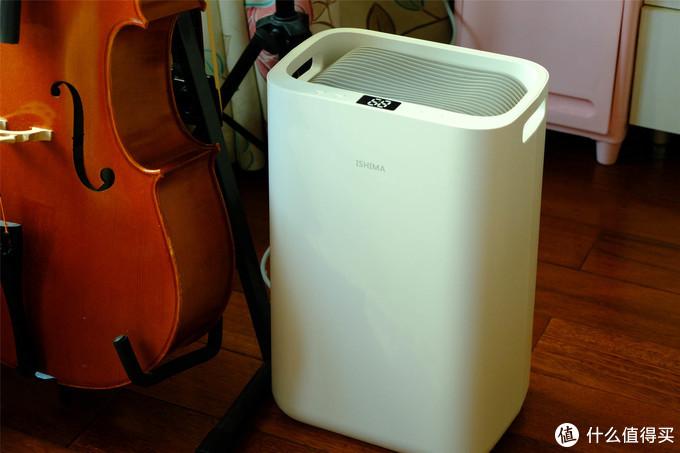 伊岛家用抽湿机空气吸湿器D15晒单