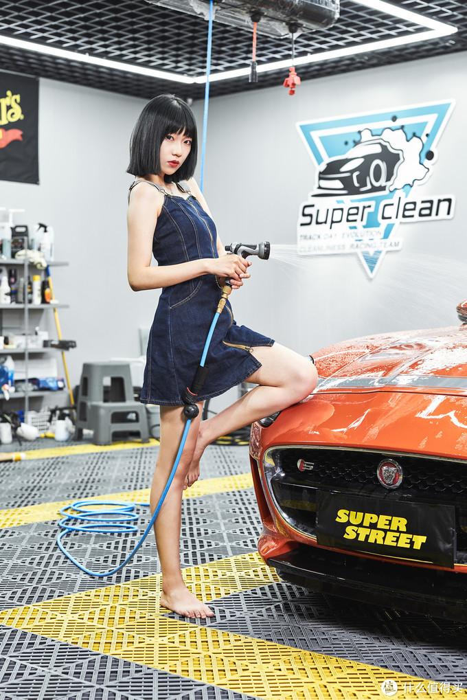 SuperStreetGirls-薇薇 车洗匠人的春天