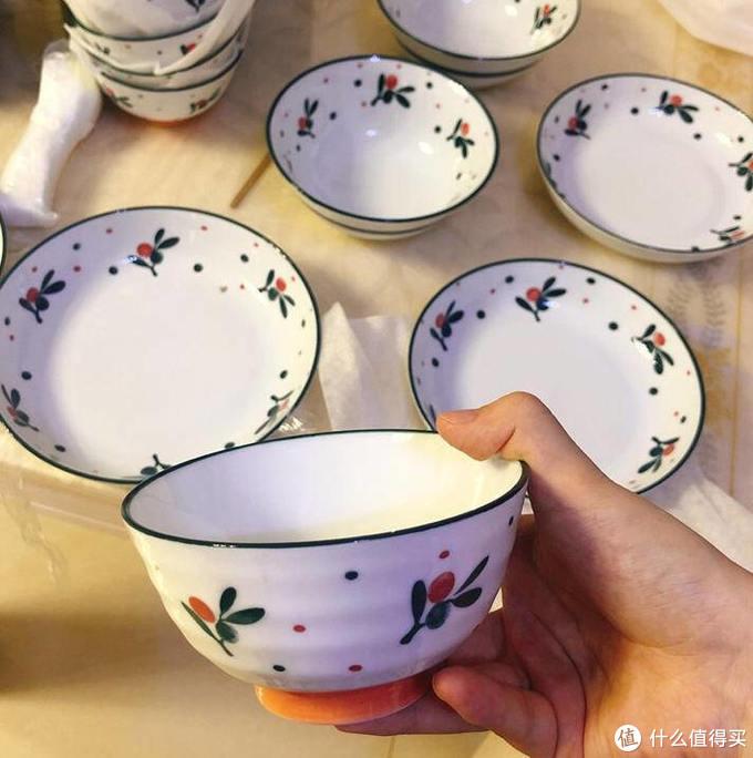 佳佰新中式春樱碗盘评测,餐桌上的小美好