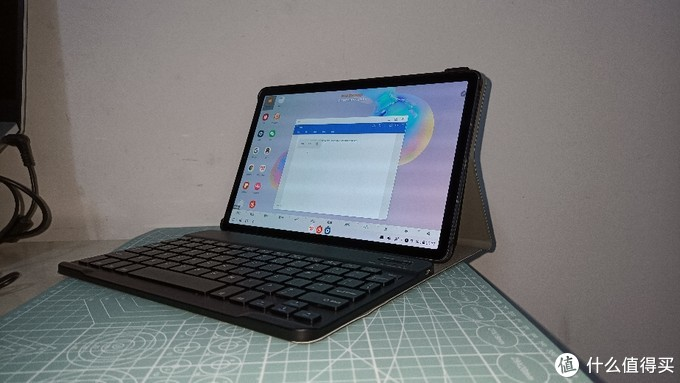 平板秒变生产力:三星tab S6平板键盘保护套,是否翻车?