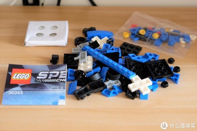 2021新品当头炮!——LEGO 乐高超级赛车系列 30343 迈凯伦 Elva 拼砌包