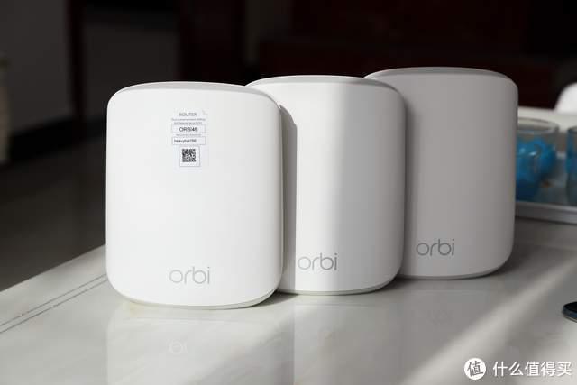 跑满带宽,稳定大覆盖3只装,网件Orbi RBK353套装评测
