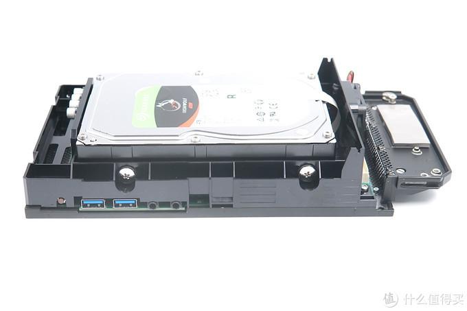 拆解报告:SEAGATE希捷5A2C七口多功能硬盘拓展坞