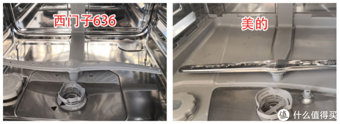 拆出好洗碗机:西门子636 PK美的P40 余生苦短何必洗碗