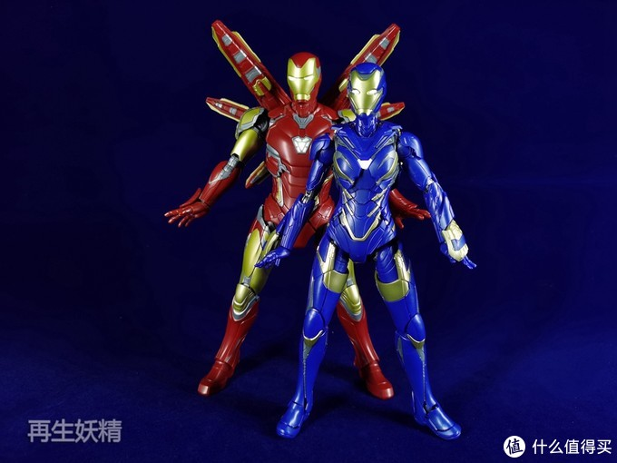 素组也能玩的爽~御模道小辣椒MK49+钢铁侠MK85 1/9拼装可动模型 试玩体验