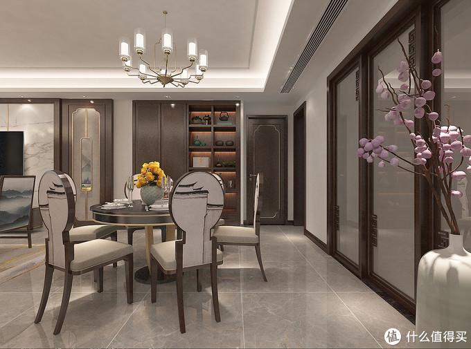 把130㎡新房打造成有韵味的中式风格,不仅美观还很实用,太喜欢了