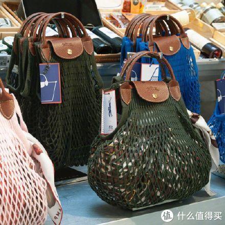 买菜也时髦——Longchamp FILET渔网包,这不就是鸡蛋兜吗?