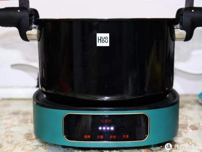 美食需要好厨具,火候不锈钢珐琅微压锅 让做饭变得更简单