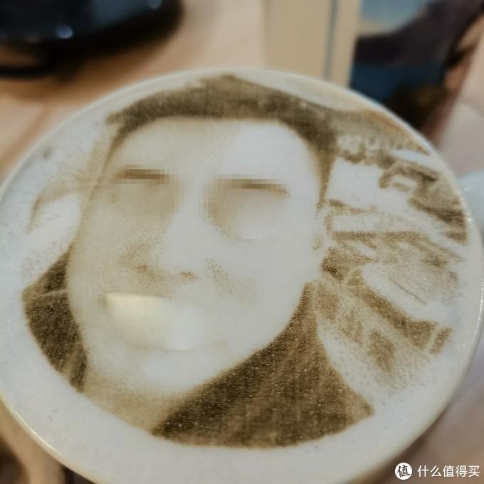 #2021种草计划#来,干了这杯现拉的热气腾腾的咖啡--全自动咖啡拉花机显摆