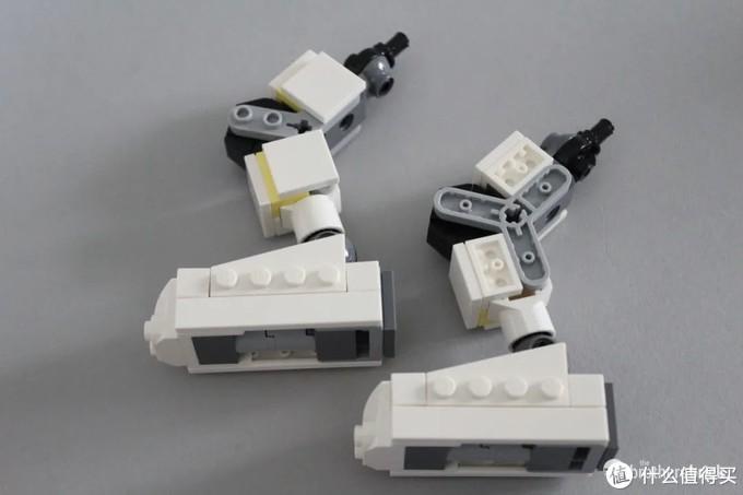 乐高创意百变3合1套装31115太空采矿机甲开箱评测