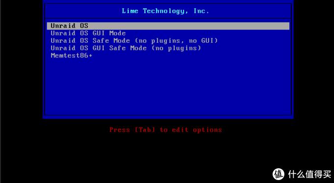 手把手安装unraid,体验独一无二的硬盘管理模式