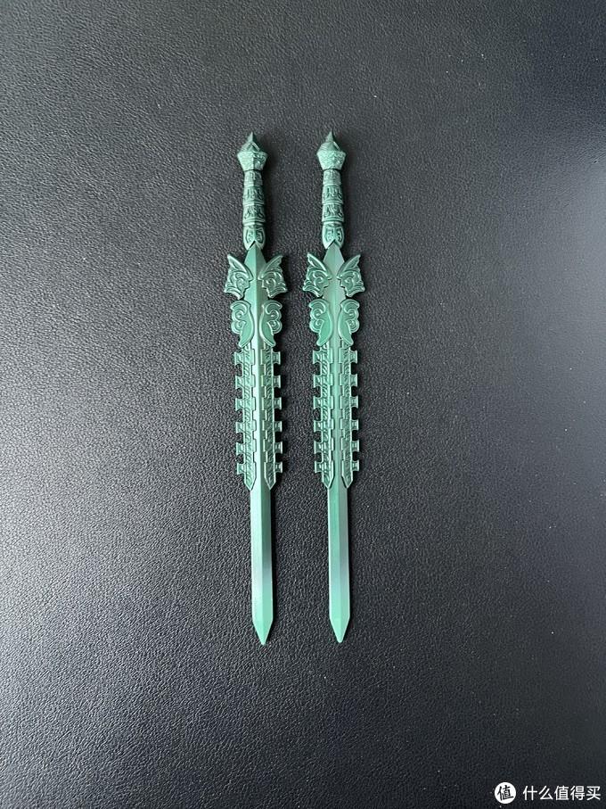 这一对是青铜剑吗?手游仙剑几来着里面的姜云凡好像确实是使双剑的。