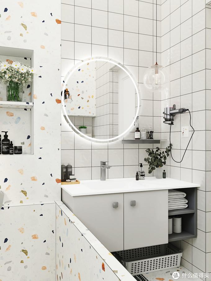 """现代简约浴室柜分享,真的太能""""装""""啦!!"""