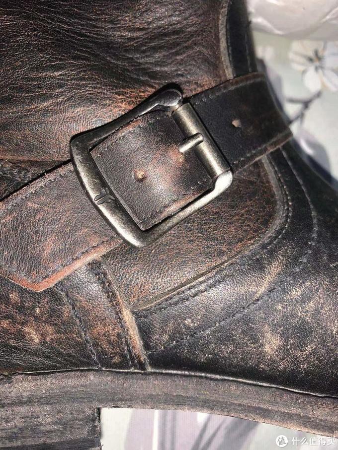 新年第一晒——FRYE Smith Engineer自然做旧款靴子