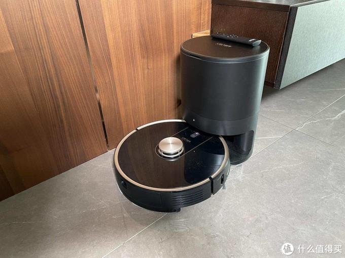 由利V980 PLUS扫拖一体机器人上手体验:真正免提,解放懒人