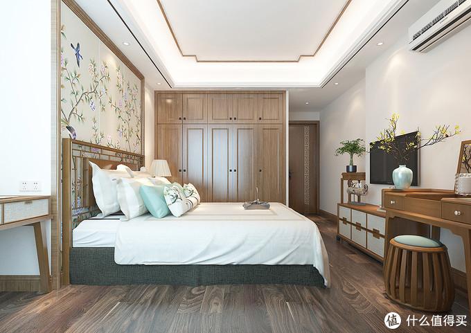 130㎡的简约新中式,全屋原木色系温馨感很强,不仅有品位档次还好