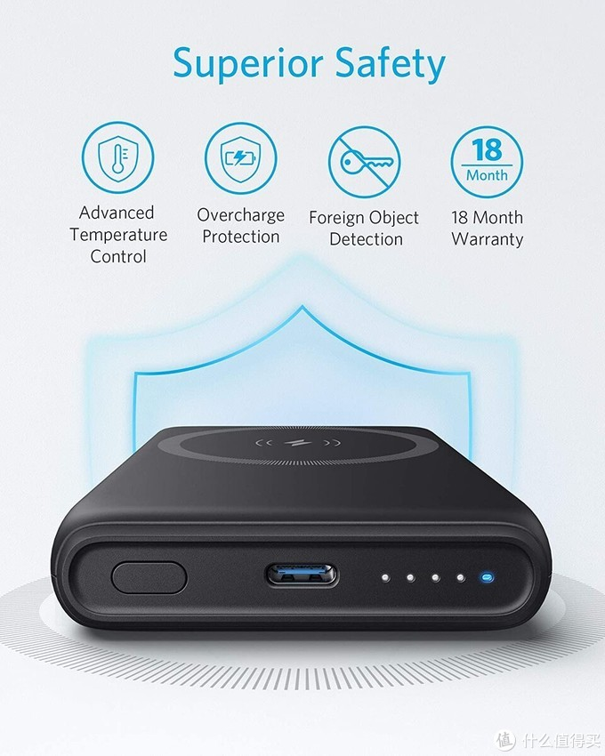 iPhone 12全系可用:Anker 推出 MagSafe PowerCore Magnetic 5K 磁吸式无线充电器