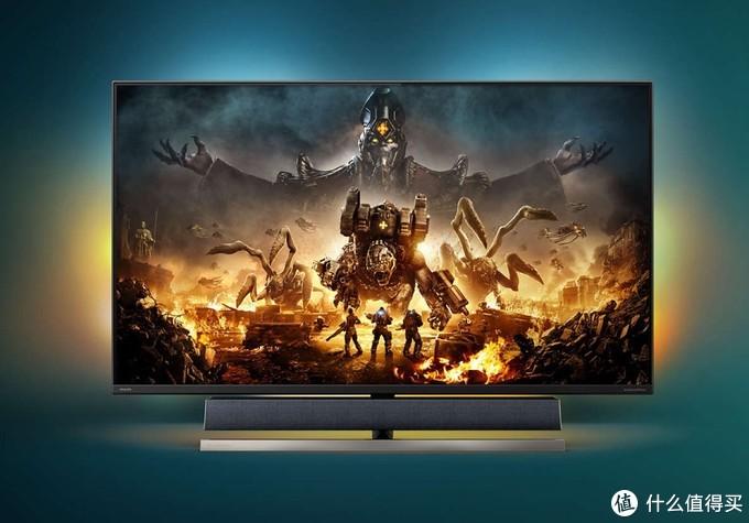 飞利浦发布55英寸4K顶级客厅游戏显示器:HDR1000认证、144Hz高刷、HDMI 2.1