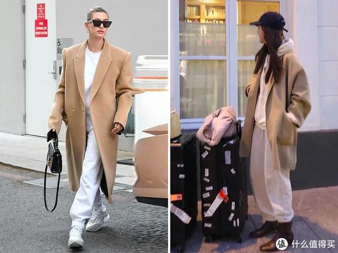 """""""大衣+卫裤""""火了?别随便跟风,不懂搭配技巧,谁穿谁显胖"""