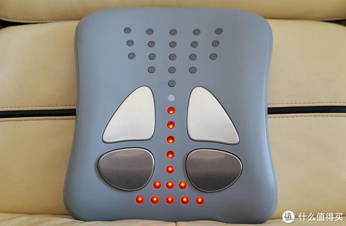 稳座腰椎按摩圈C位,15分钟缓减腰椎不适,宾多康智能腰椎按摩仪!
