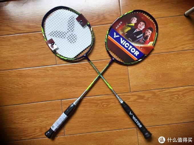 分享:第一次被大妈翻牌,胜利牌JS5233羽毛球拍