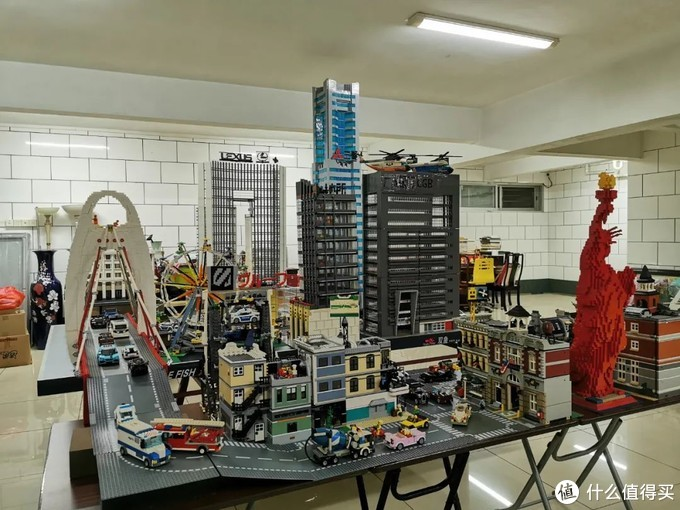 用十万片乐高拼成的广州城市天际线!国内玩家创作的高四米MOC作品