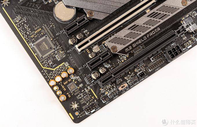 声卡区域是最新的ALS4080音频处理芯片