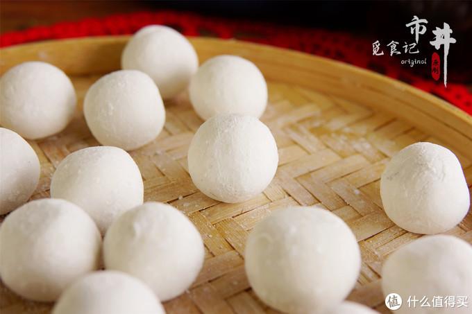 正月十五元宵节,1碗糯米粉包20个汤圆,少糖少油,比速冻的强