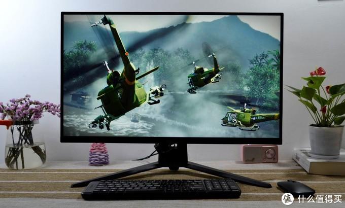 HKC IG27Q显示器图赏,超清IPS炫彩高刷屏,1ms快速响应带你旗开得胜