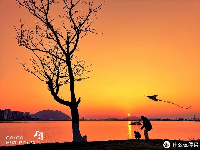 魅族17Pro作品分享-醉美日落