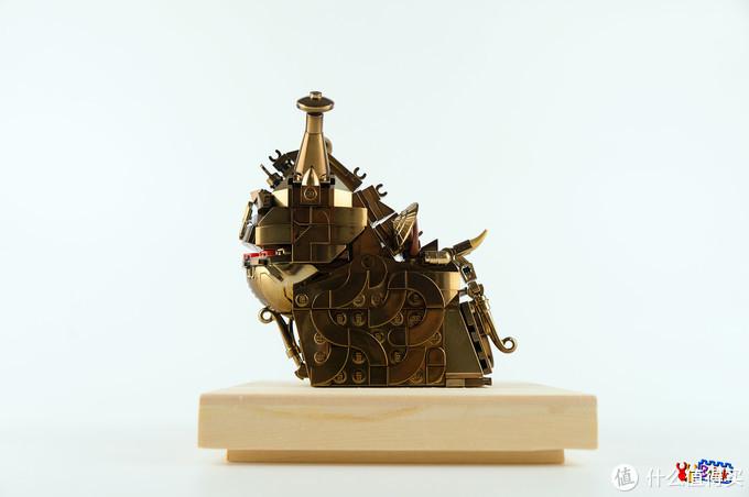 用乐高积木来复原青铜器-觥-西周用来盛酒的文物