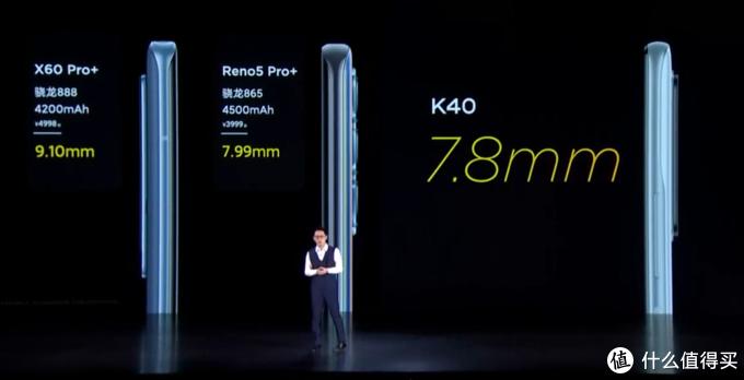 K40机身厚度和重量