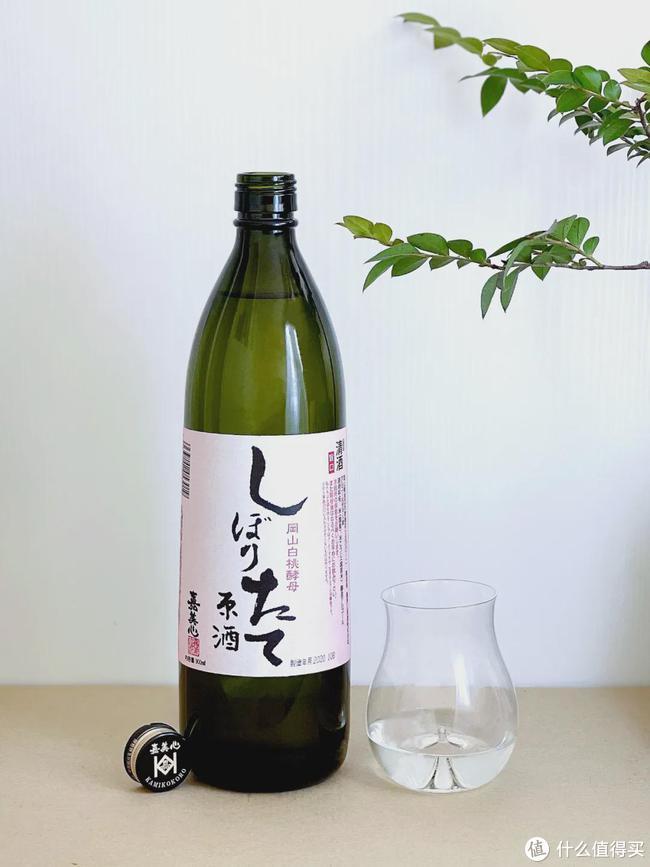 好酒:罕见的白桃酵母清酒,酿好以后不处理直接装瓶