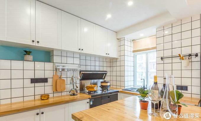 系列 I 设计师设计出来的装修能有多好看(一):明亮色系打造的开放式厨房浪漫感满分