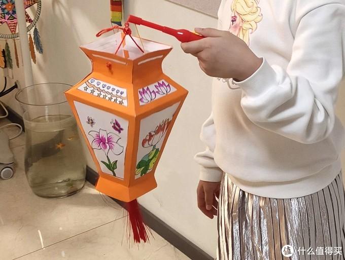 正月十五做花灯--自制简单灯笼
