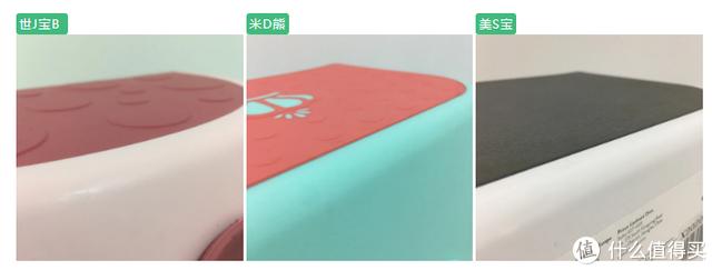 脚凳表面嵌入软质材料