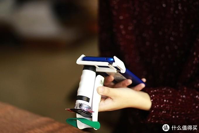 120倍 科学罐头手持便携式3合1科学显微镜