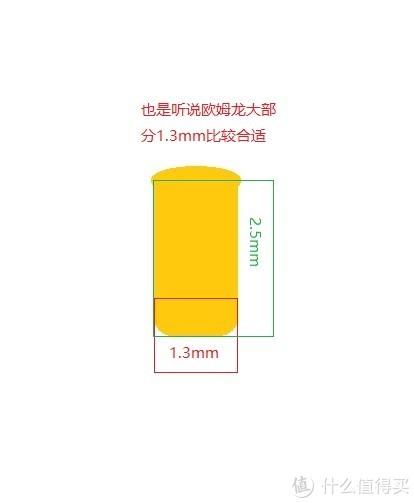 PCB厚度太厚,也可用1.3*3,长度建议大于PCB厚度1.5mm