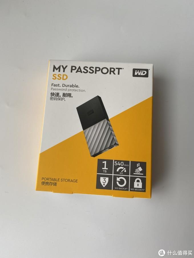 谢谢张大妈的礼物——西部数据 My Passport 1TB 移动硬盘