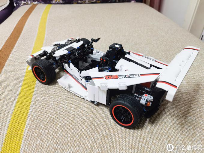 老男孩和小男孩的新年礼物——小米智能积木公路赛车