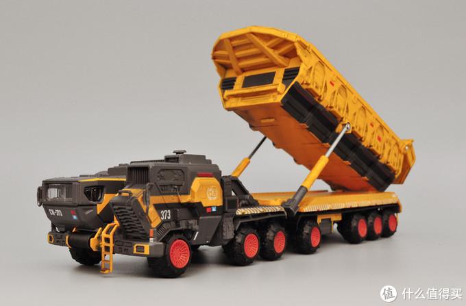 行车不规范,亲人两行泪:凯迪威《流浪地球》CN373斗式运载车开箱