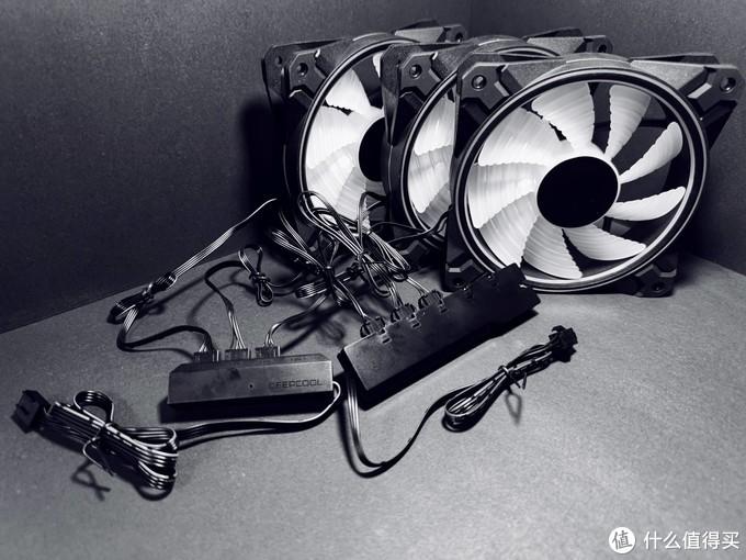 颜值超高的RGB机箱风扇-九州风神魔影CF120