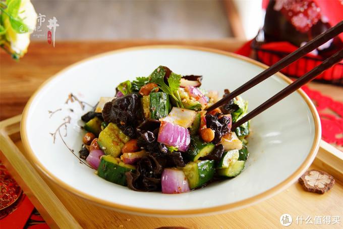 这道菜凉拌和大鱼大肉是绝配,爽口解腻,下酒好菜