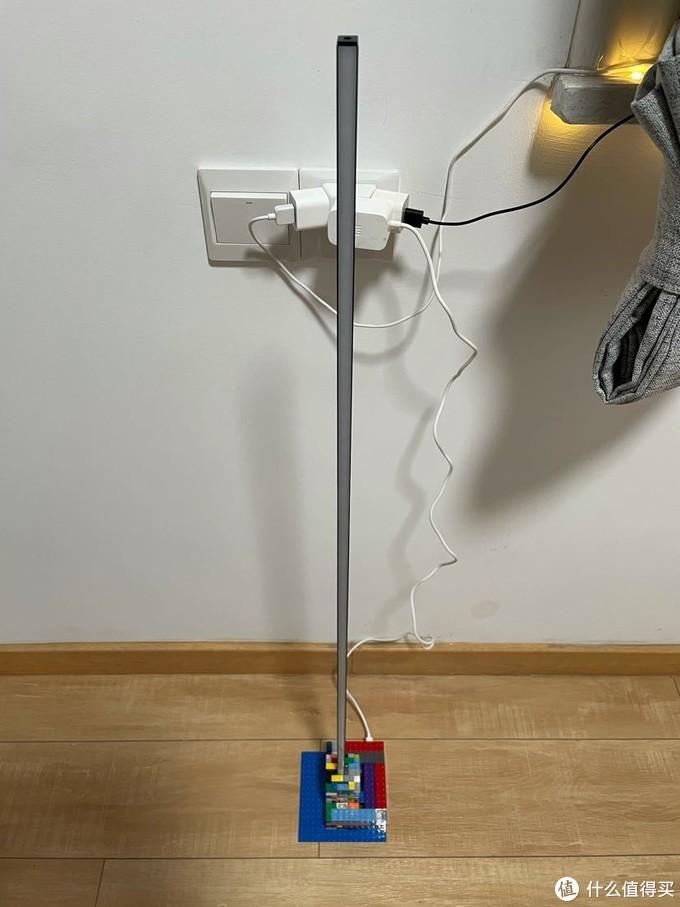 DIY一个效果还不错价格的落地氛围灯