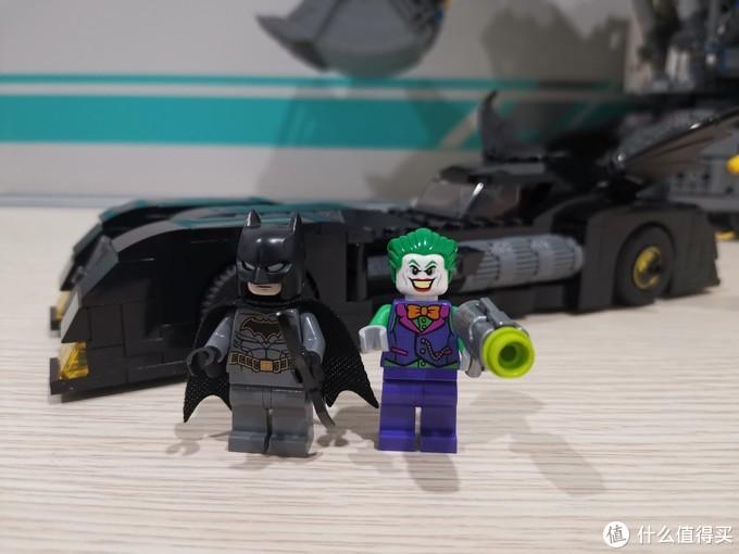 LEGO DC系列 76119 蝙蝠侠的迷你战车之追捕小丑